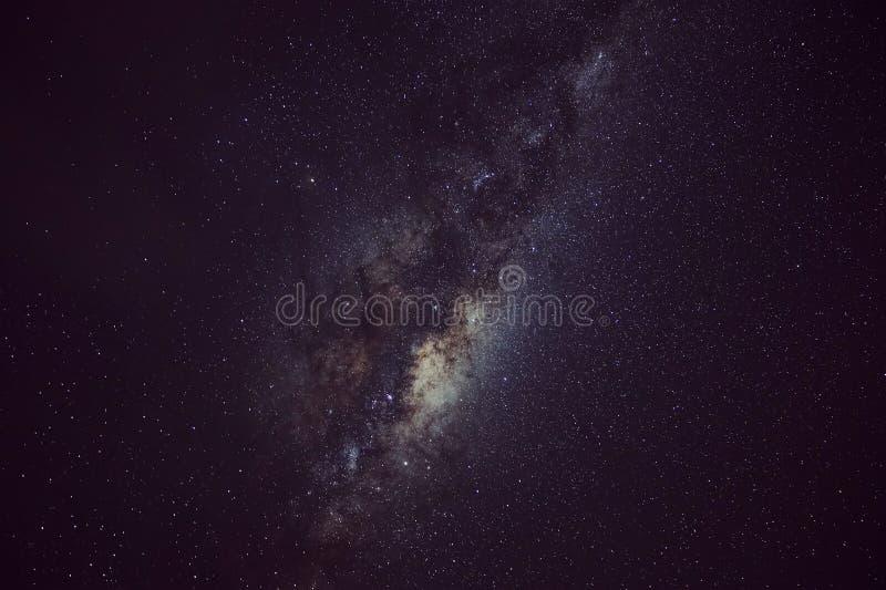 Vintergatan Tekapo royaltyfria bilder