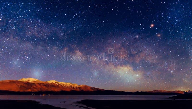 Vintergatangalax arkivbilder