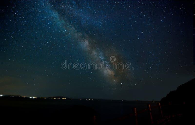 Vintergatangalax arkivfoton