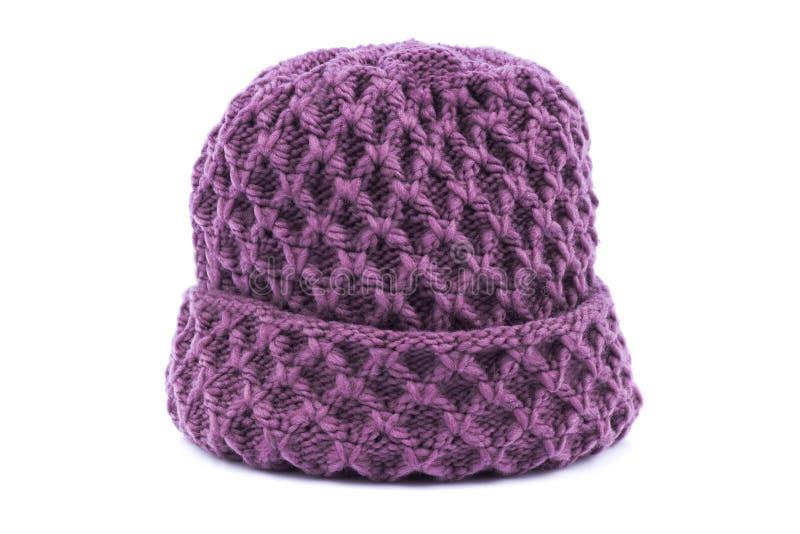 Download Vinterhatt arkivfoto. Bild av vitt, knit, isolerat, färg - 37344334