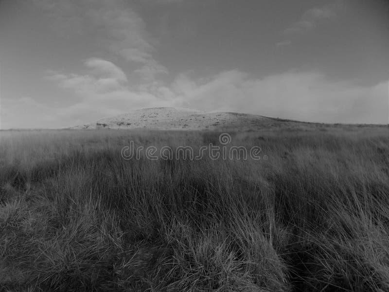 Vinterkulle, Rivington pik, Lancashire arkivbild