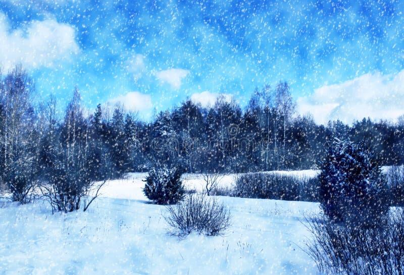 Download Vinterlandskap I Lettland, Östeuropa Fotografering för Bildbyråer - Bild av trees, latvia: 78725995