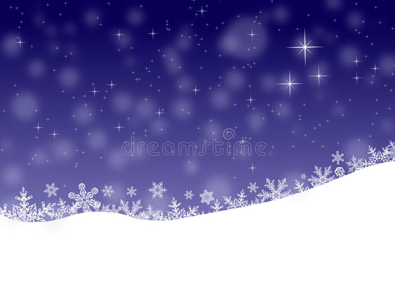 Vinterlandskap, julbakgrund royaltyfri foto
