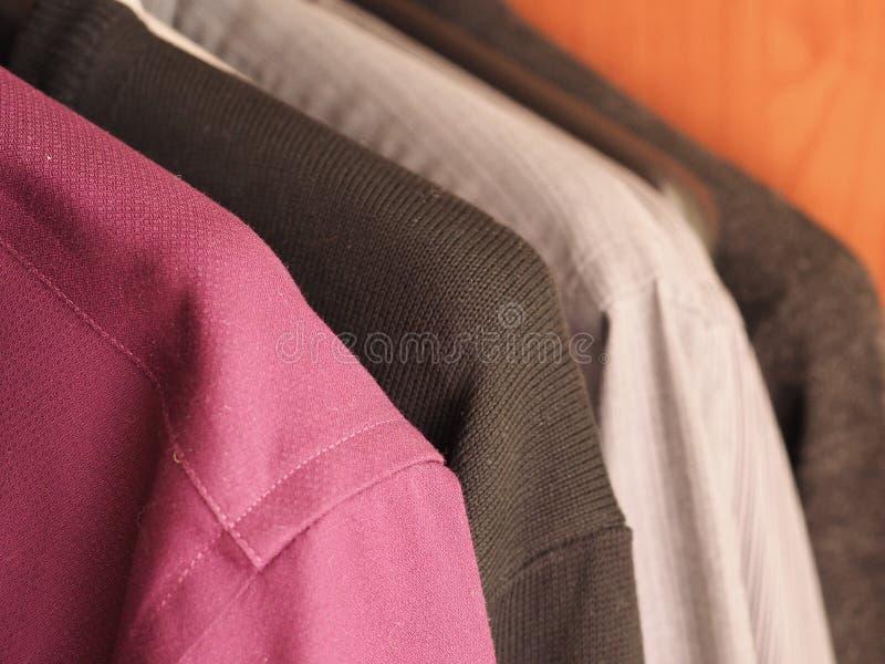 Vintermäns kläder royaltyfria bilder