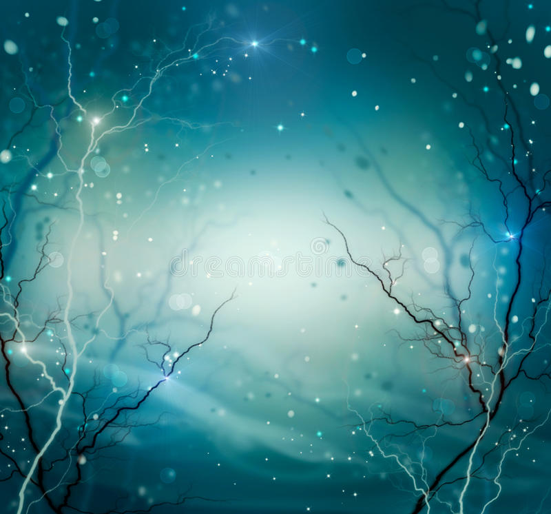 Vinternaturbakgrund arkivfoto
