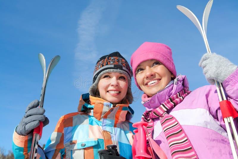 Vintersport royaltyfri foto