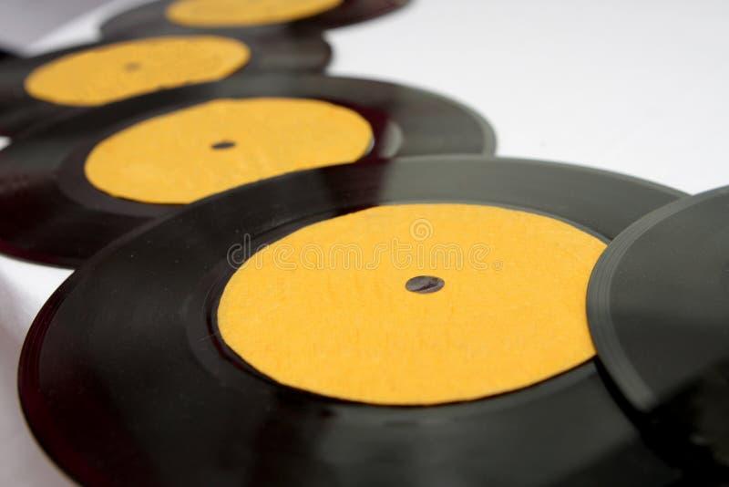 Vinyl royaltyfria bilder