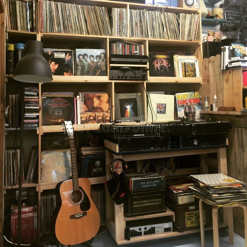 vinyl royaltyfri foto