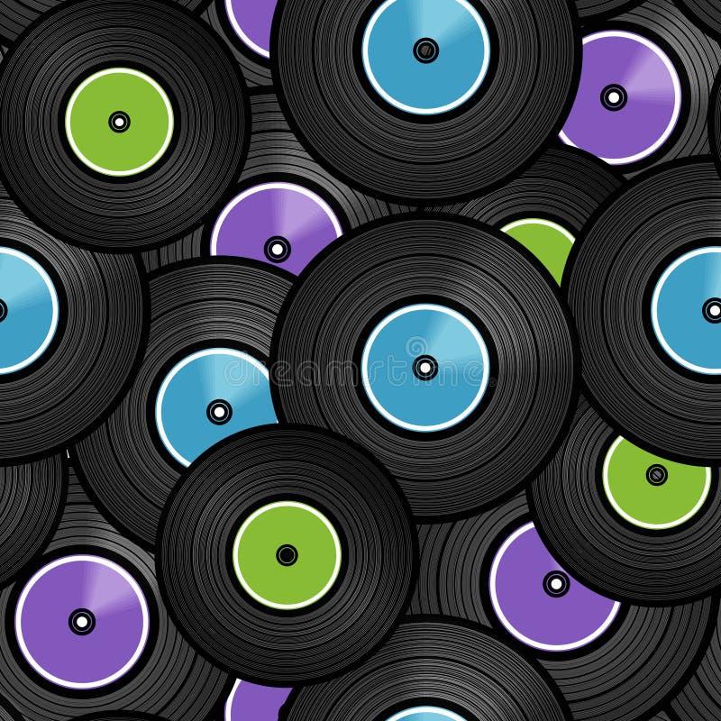 Vinyl Audio Discs Stock Photos