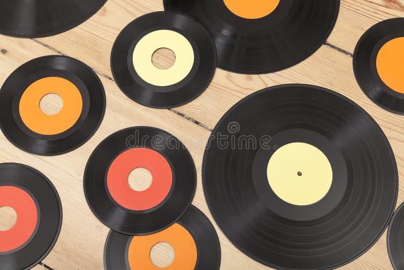 Vinyl background royalty free stock photography