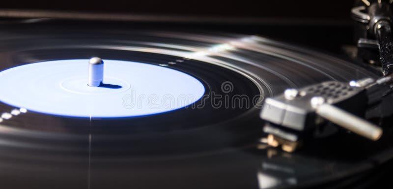 Vinyl. Delicate sound of vinyl records royalty free stock photo