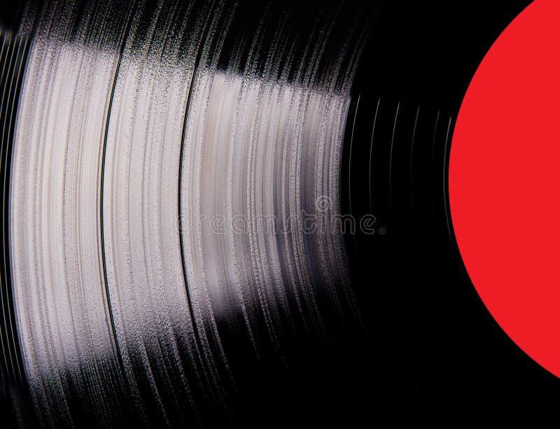 Vinyl disc. Very close-up royalty free stock photos