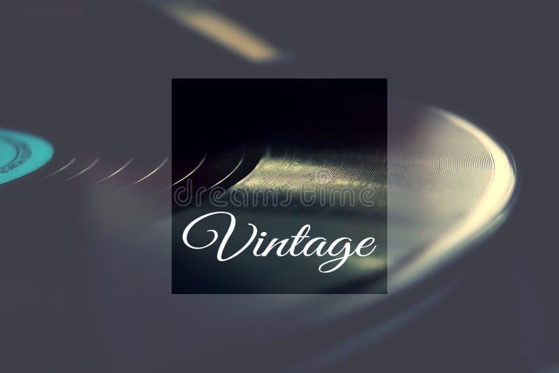 Vinyl für Grammophon lizenzfreie stockfotos