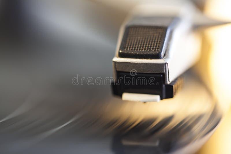 vinyl f?r bildspelareraster arkivbilder