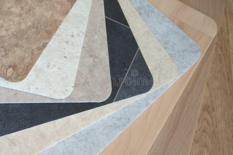 Vinyl Flooring stock photography