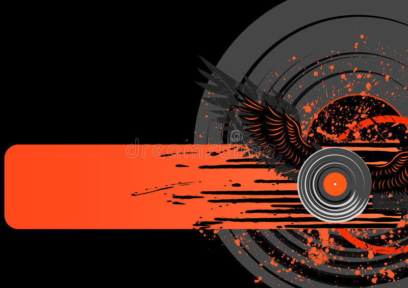 Download Vinyl grunge background stock vector. Illustration of copyspace - 8856459