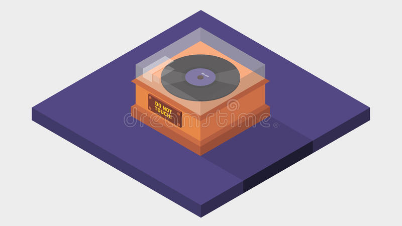 Vinyl Isometric stock photos