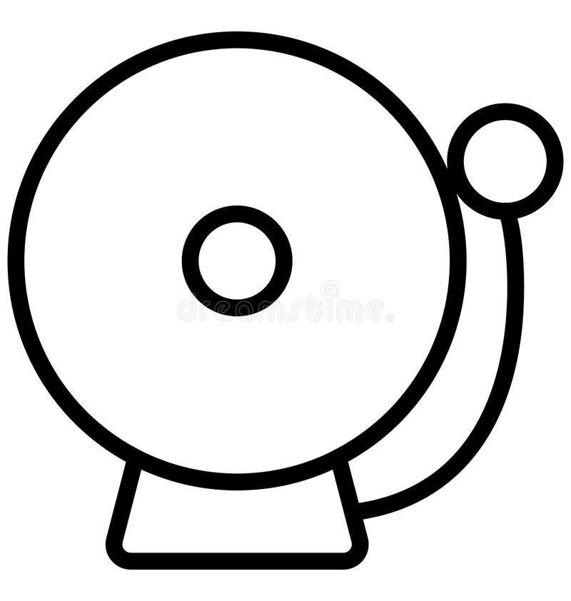 Vinyl lokalisierte Linie Vektor-Ikone, die leicht geändert werden oder redigiert werden kann lizenzfreie abbildung