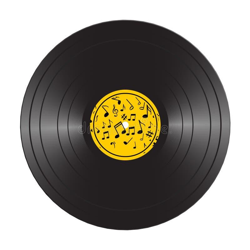 vinyl lp record disc black musical vinyl album disc realistic