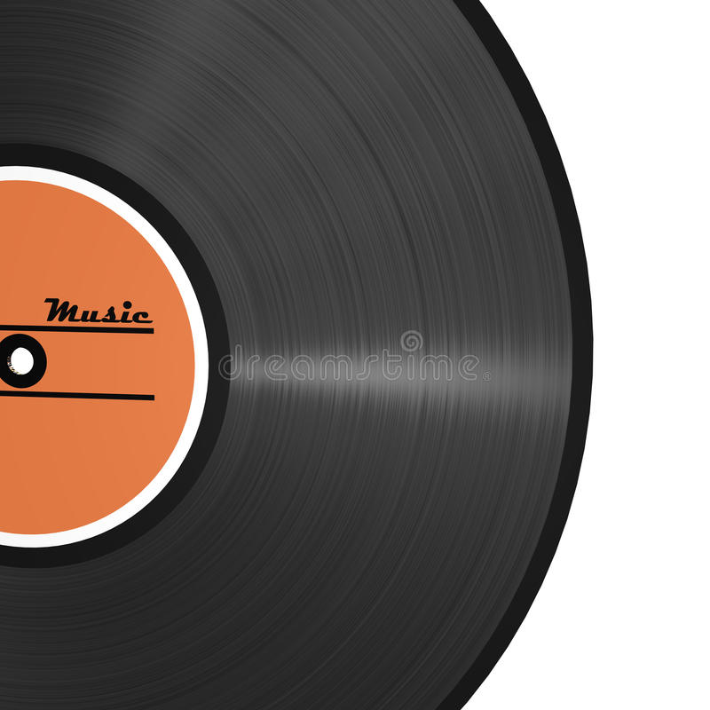 Download Vinyl Patter Record Stock Photo - Image: 12925600