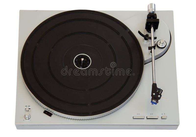 Vinyl player stock photo