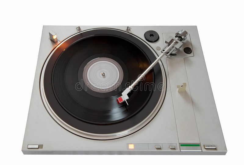Download Vinyl player stock image. Image of revolving, music, player - 8106387