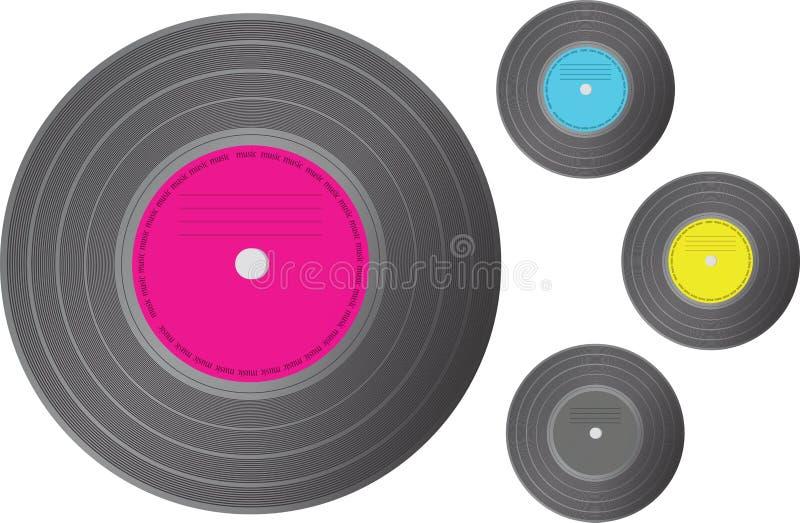 Download Vinyl record. stock image. Image of long, closeup, equipment - 25169585