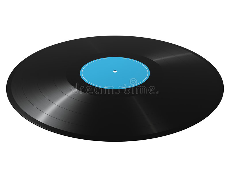 Vinyl record. Photorealistic 3D render of a vinyl record stock images