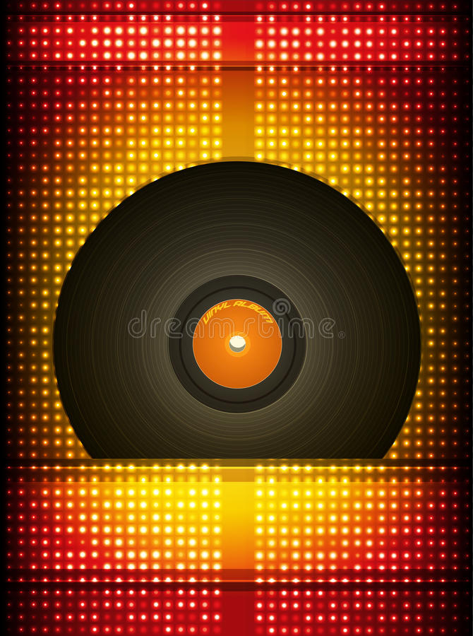 Download Vinyl record. stock vector. Illustration of fashioned - 28277295