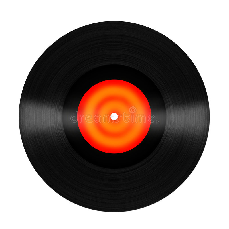 Download Vinyl Record stock illustration. Image of black, disk - 3869013