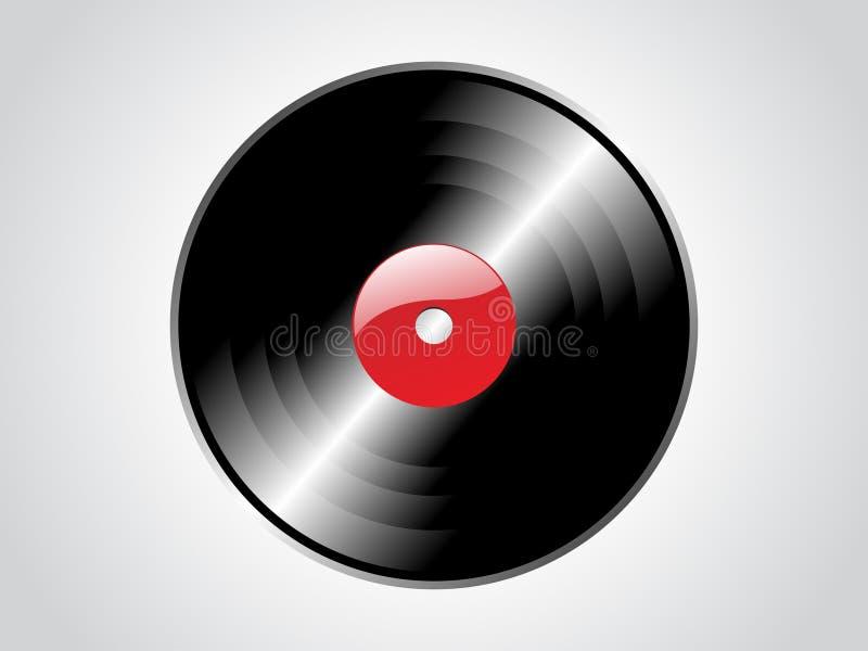 Download Vinyl record stock vector. Image of retro, studio, sound - 4880000