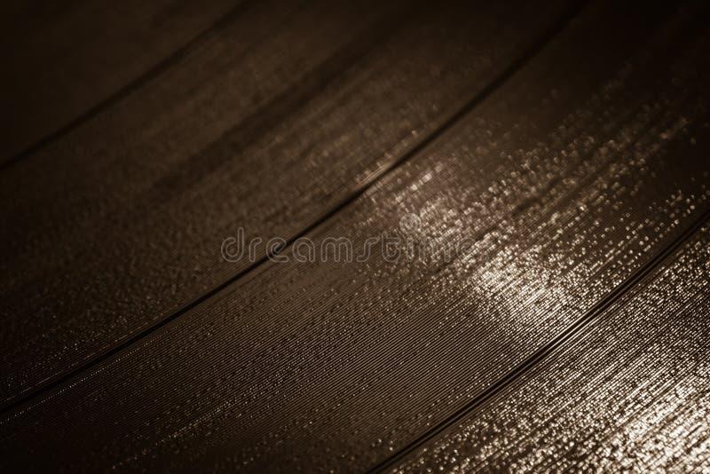 Vinyl record detail stock photo