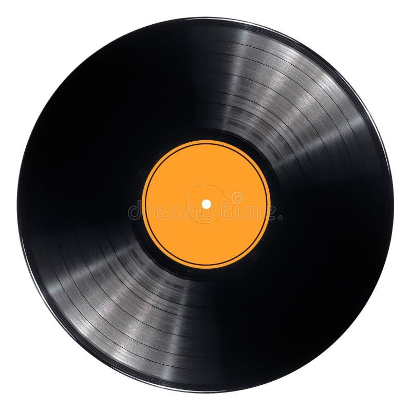 Vinyl Record Disc Stock Photo Image Of Isolated Black
