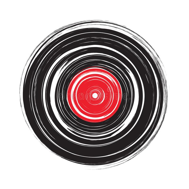 Free Vinyl Record Draw Sketch Vector Royalty Free Stock Photography - 151332997
