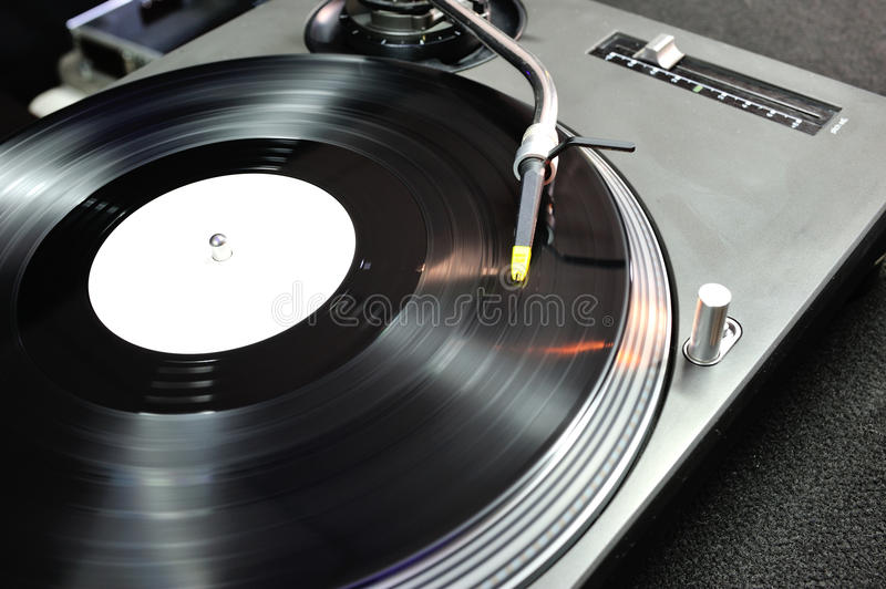 Download Vinyl record player stock image. Image of classic, obsolete - 25839099