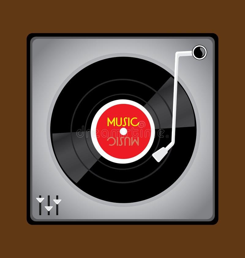 Vinyl Record Player Royalty Free Stock Image