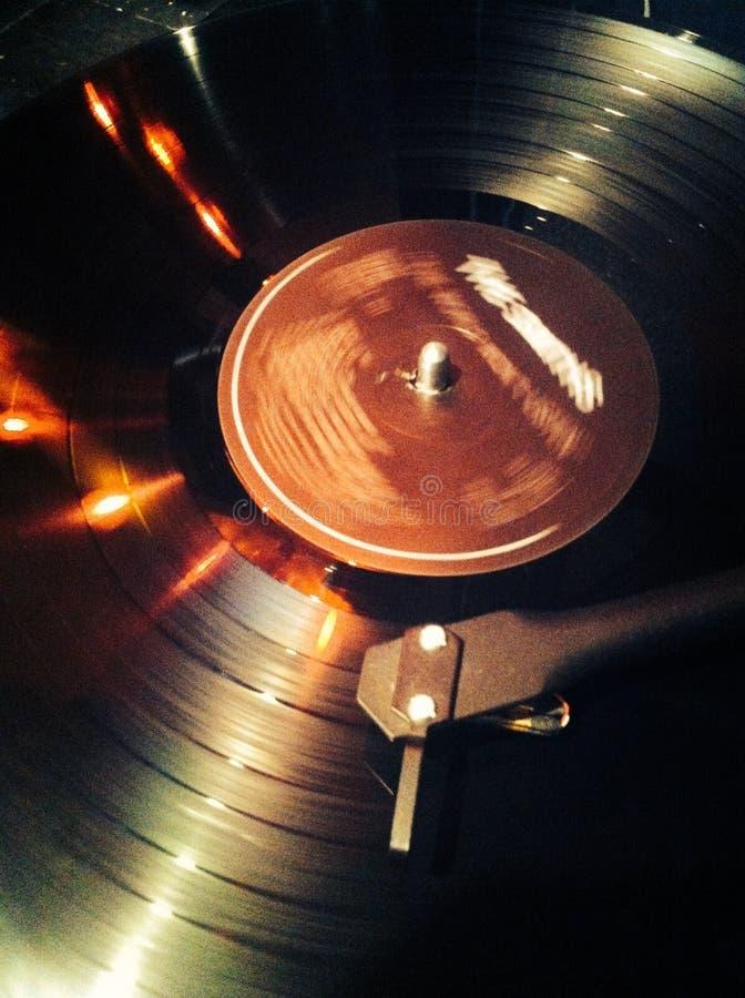 Vinyl. Record player old school sound party vinyl royalty free stock photo