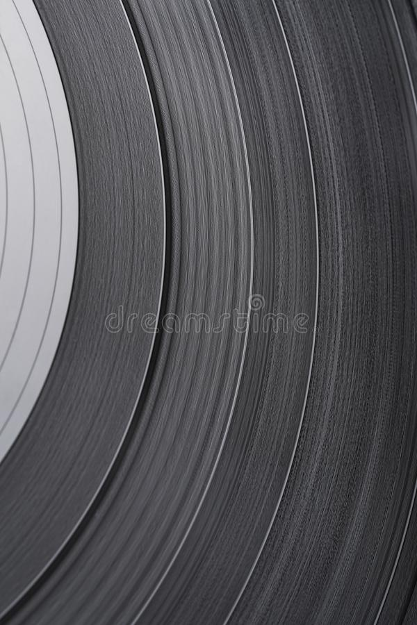 Vinyl Record Texture. Surface of an old vinyl record. Macro shot, shallow depth of field. SDF stock images