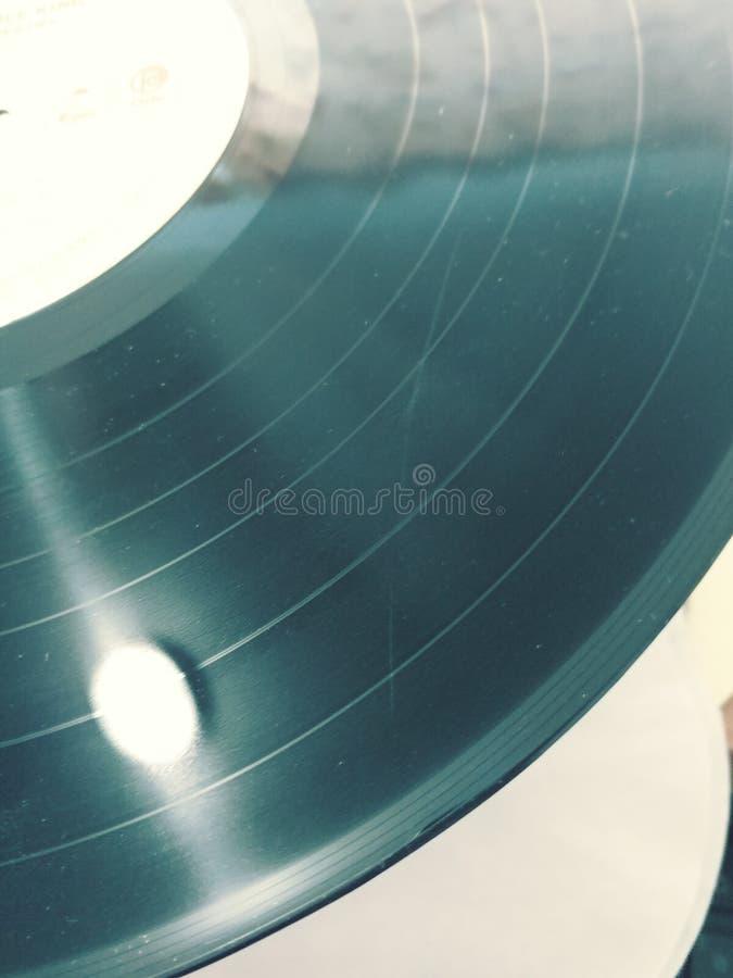 Vinyl Record. Album stock photo
