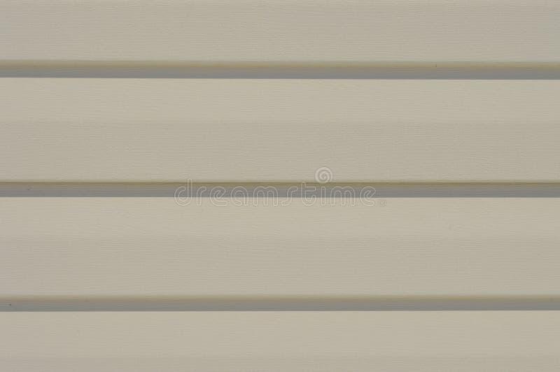 Vinyl siding furniture for exterior wall cladding. Texture design royalty free stock photo