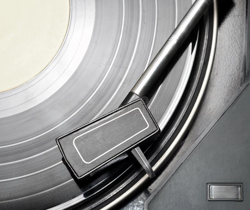 Vinyl speler #1 stock foto