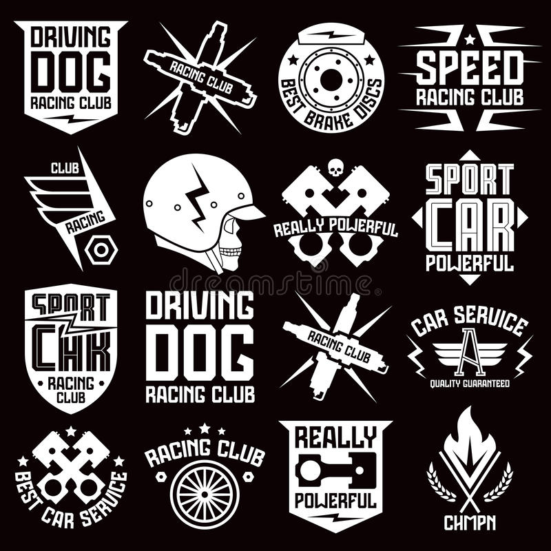 Vinyl Stickers On Car Stock Vector Image - Graphic design stickers for cars