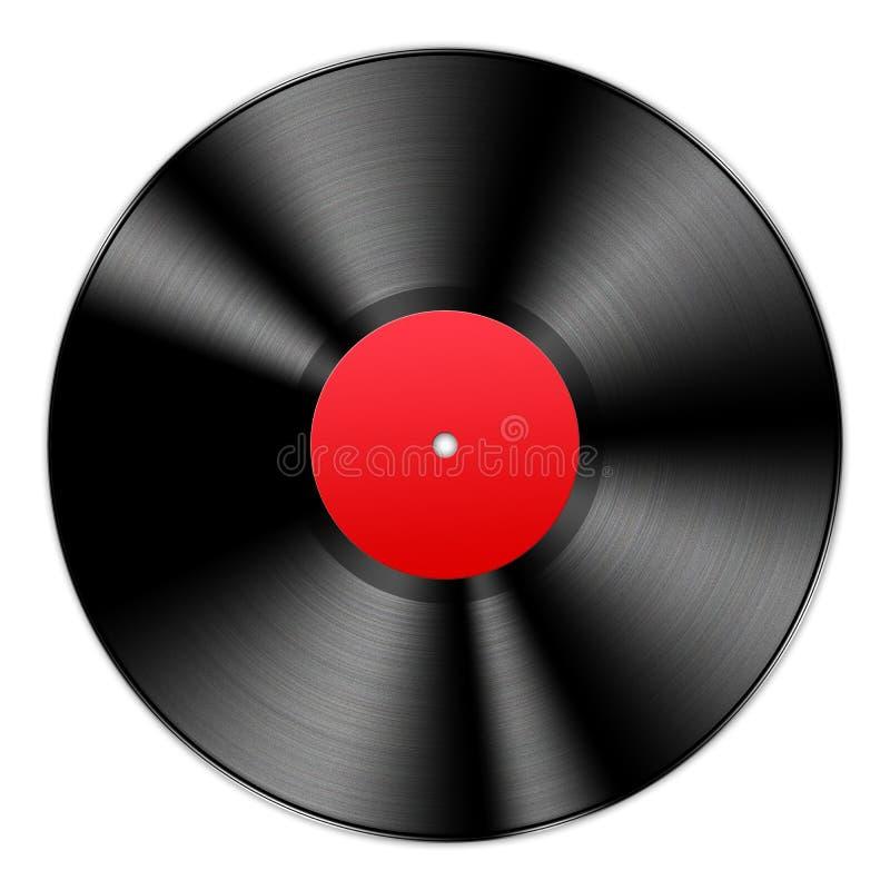 Vinyl Verslag royalty-vrije illustratie