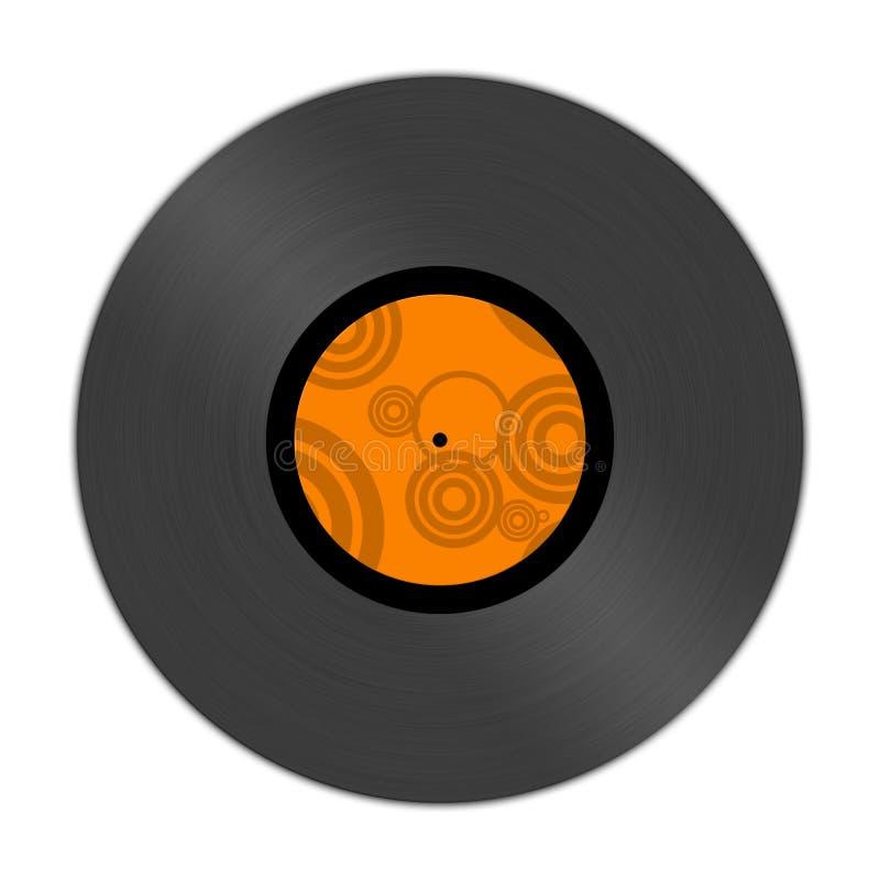 Vinylverslagalbum stock foto