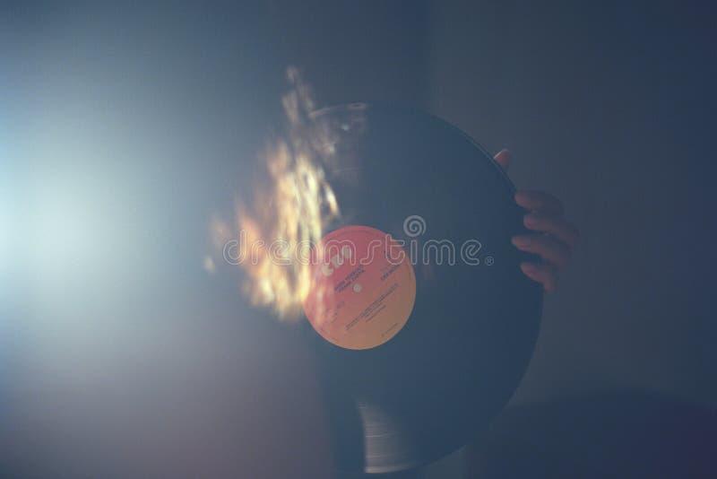 Vinylaufzeichnungsdiskette