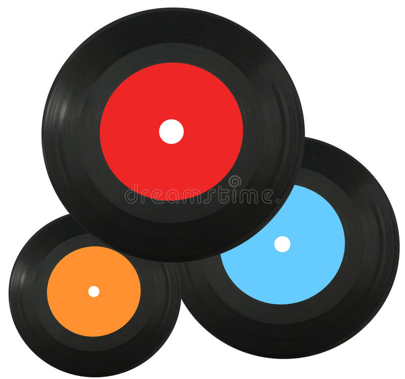 vinyle record images stock