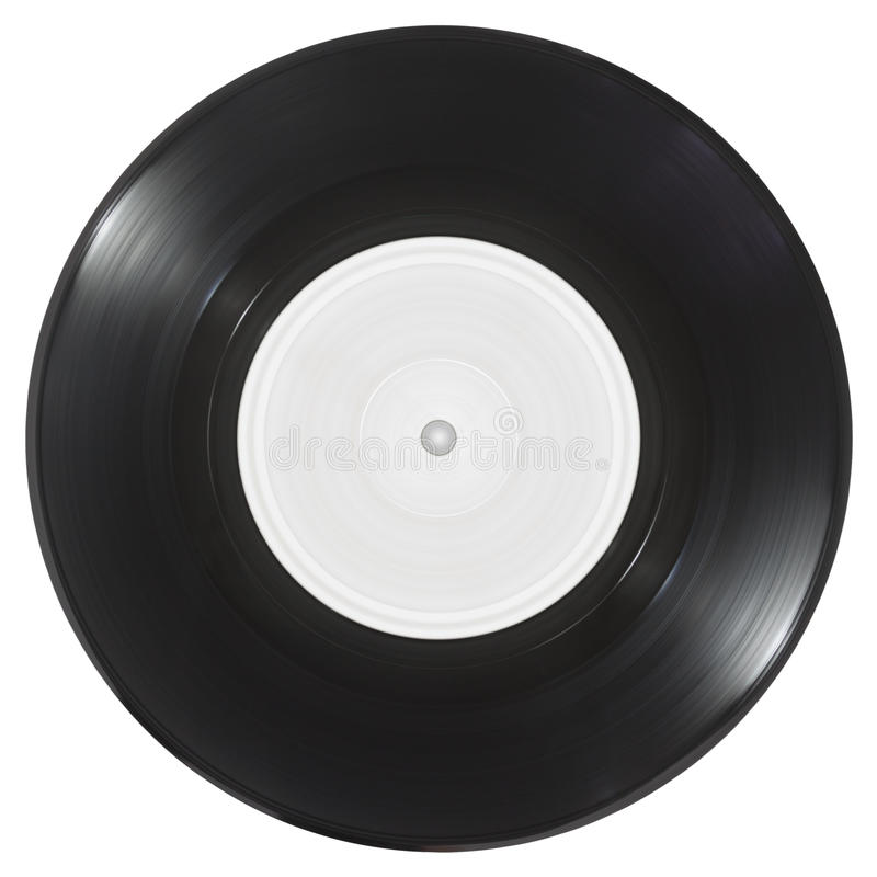 Vinyle simple photographie stock