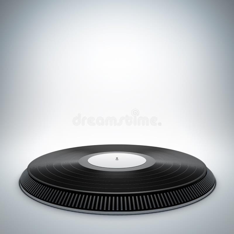 Vinylmusikstadium lizenzfreie stockfotografie