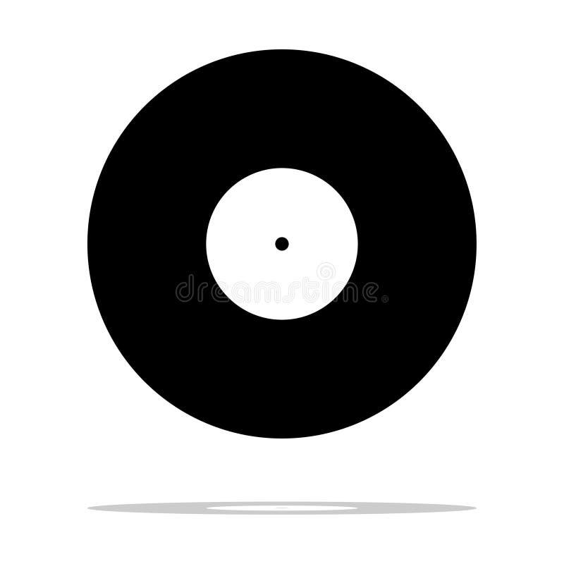Vinylmuziekverslag stock illustratie