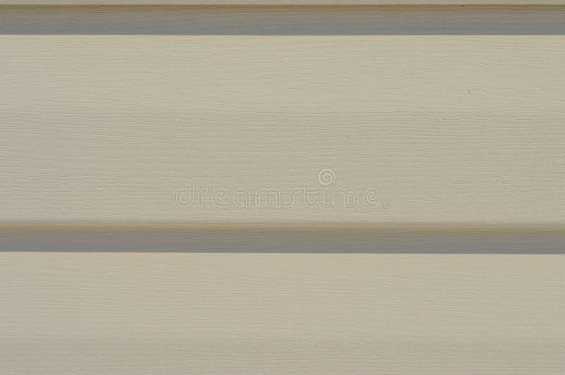 Vinylsidmöblemang för cladding för yttre vägg arkivfoto